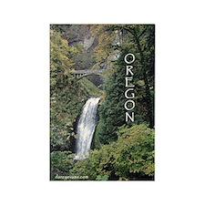 Oregon - Multnomah Rectangle Magnet (10 pack)