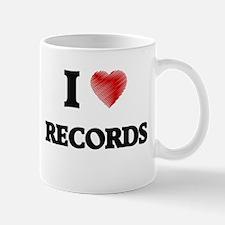 I Love Records Mugs