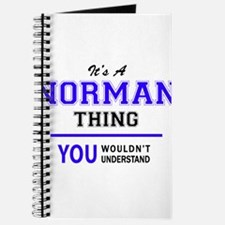 It's NORMAN thing, you wouldn't understand Journal