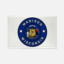 Madison Wisconsin Magnets