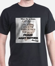 Proud Army Mom-In-Law T-Shirt