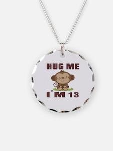 Hug Me I Am 13 Necklace