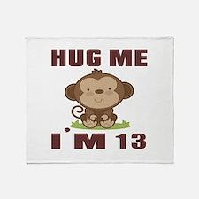 Hug Me I Am 13 Throw Blanket