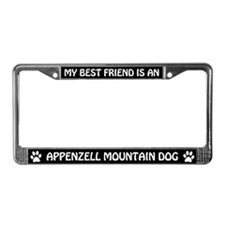 Appenzell Mountain Dog (friend) License Frame