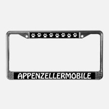 Appenzell Mountain Dog License Plate Frame