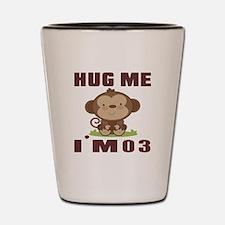 Hug Me I Am 03 Shot Glass