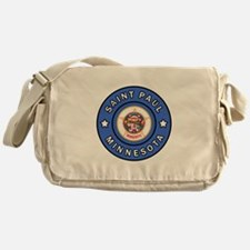 Saint Paul Minnesota Messenger Bag