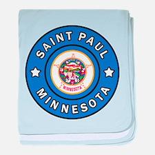 Saint Paul Minnesota baby blanket