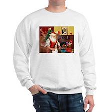 Santa's Eng Spring Span Sweatshirt