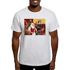 Santa's Eng Spring Span T-Shirt