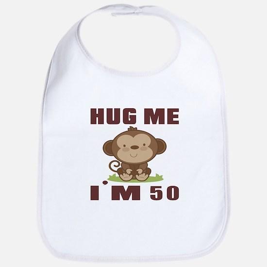 Hug Me I Am 50 Bib