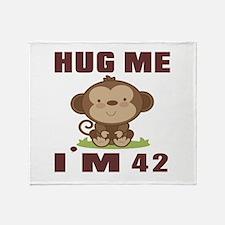 Hug Me I Am 42 Throw Blanket
