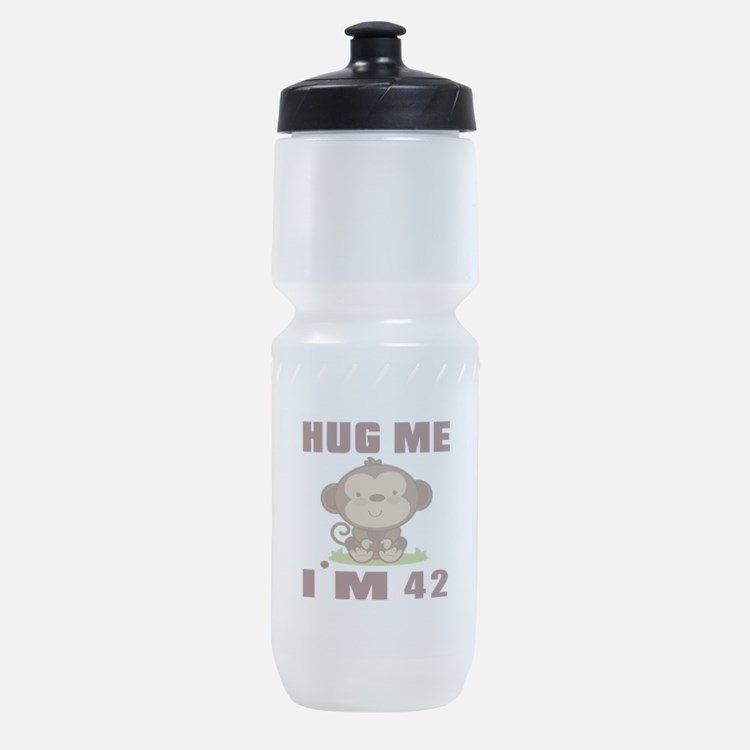 Hug Me I Am 42 Sports Bottle
