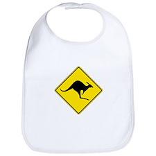 Kangaroo Crossing, Australia Bib