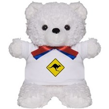 Kangaroo Crossing, Australia Teddy Bear