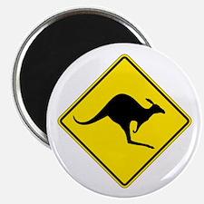 Kangaroo Crossing, Australia Magnet