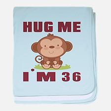 Hug Me I Am 36 baby blanket