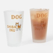 Funny Shibas Drinking Glass