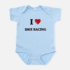 I Love Bmx Racing Body Suit
