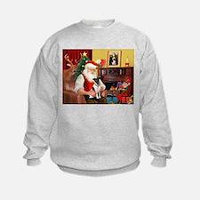 Santa's smooth Fox T Sweatshirt