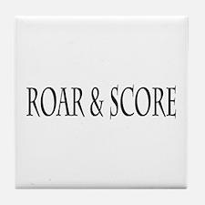 Roar & Score Tile Coaster