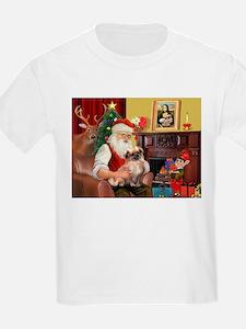 Santa's Tibetan Spaniel T-Shirt