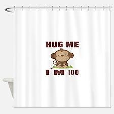 Hug Me I Am 100 Shower Curtain