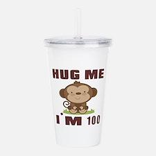 Hug Me I Am 100 Acrylic Double-wall Tumbler