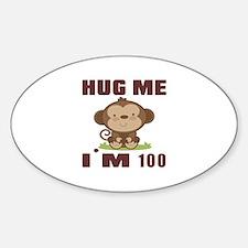Hug Me I Am 100 Decal