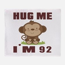 Hug Me I Am 92 Throw Blanket
