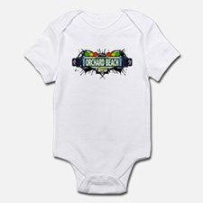 Orchard Beach (White) Infant Bodysuit