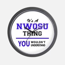 It's NWOSU thing, you wouldn't understa Wall Clock