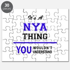 It's NYA thing, you wouldn't understand Puzzle