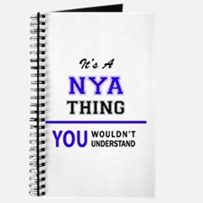 It's NYA thing, you wouldn't understand Journal