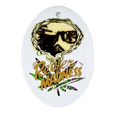 Reefer Madness - Oval Ornament
