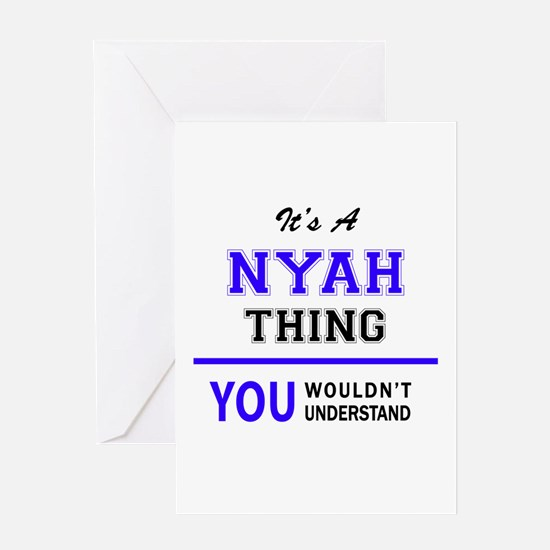 It's NYAH thing, you wouldn't under Greeting Cards
