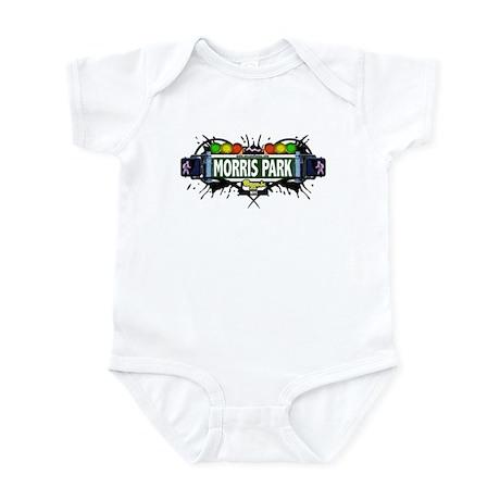Morris Park (White) Infant Bodysuit
