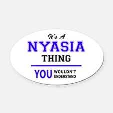 It's NYASIA thing, you wouldn't un Oval Car Magnet
