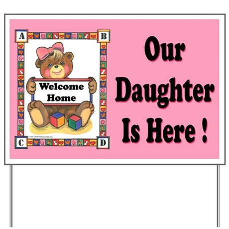 Baby Girl - Yard Sign