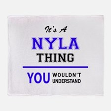 It's NYLA thing, you wouldn't unders Throw Blanket