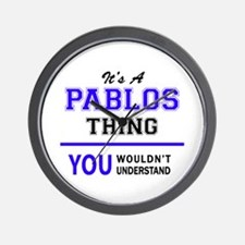It's PABLOS thing, you wouldn't underst Wall Clock