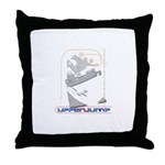 upperjump Throw Pillow