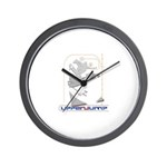 upperjump Wall Clock