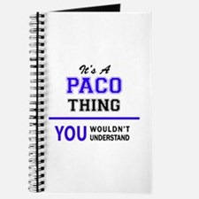 It's PACO thing, you wouldn't understand Journal