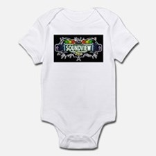 Soundview (Black) Infant Bodysuit