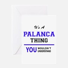 It's PALANCA thing, you wouldn't un Greeting Cards