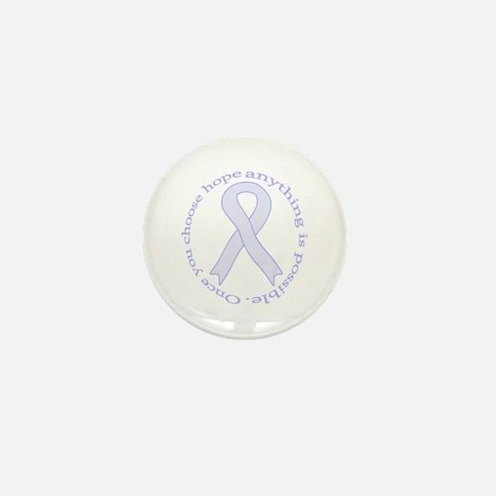 Lavender Hope Mini Button
