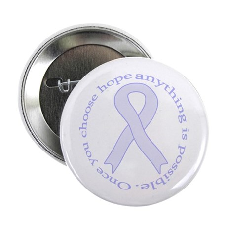 """Lavender Hope 2.25"""" Button (100 pack)"""