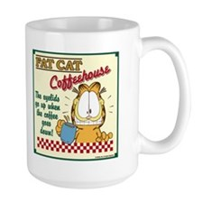 Coffeehouse Garfield Mug