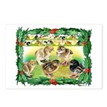 Chicks For Christmas! Postcards (Package of 8)